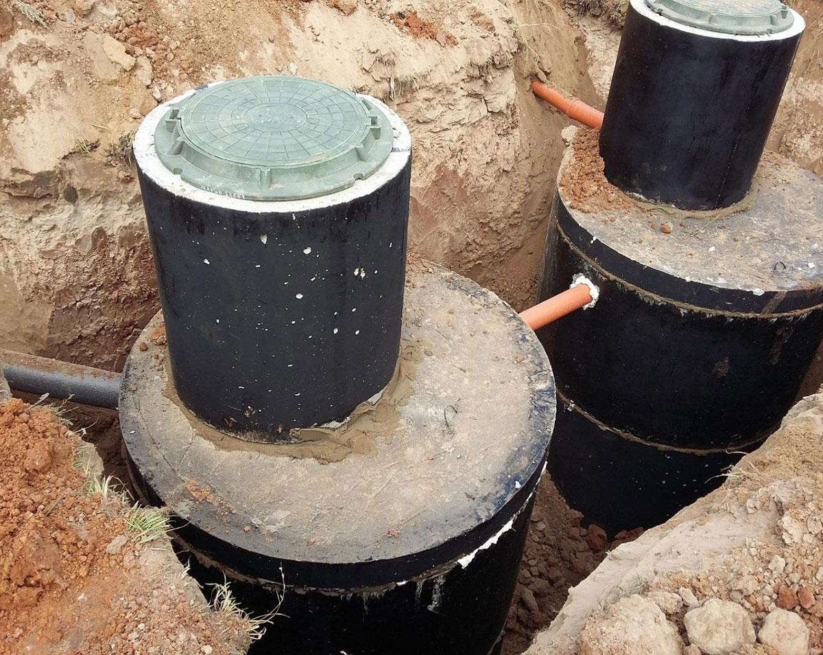 строительство выгребных ям
